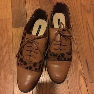 Forever 21 Leopard Oxford